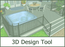 Free swimming pool design software online tool for Online deck designer tool