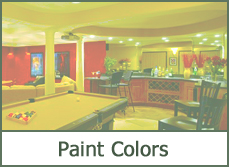basement paint color combinations schemes