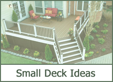 small deck designs ideas