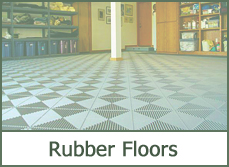 garage rubber flooring ideas