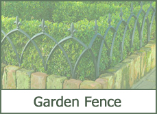 garden fence designs ideas pictures