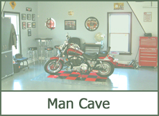 garage man cave designs ideas