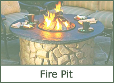 outdoor patio firepit designs ideas pictures