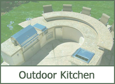 outdoor patio kitchen designs pictures