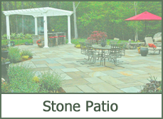 stone patio designs ideas