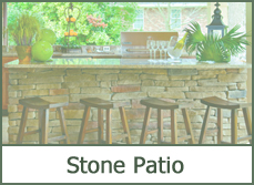 Stone Patio Design Plans