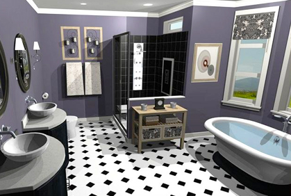 Free bathroom design software 3d downloads reviews - Bathroom remodeling software free ...