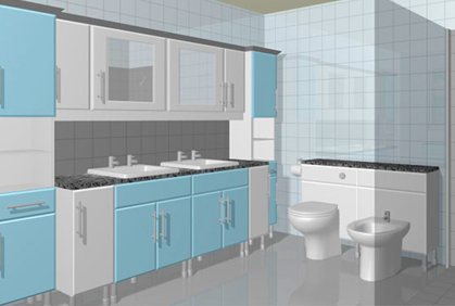 3d kitchen design software demo for Free 3d bathroom design software