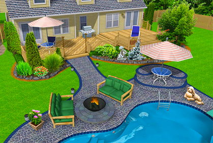 Backyard design software 3d downloads 2017 reviews for Pool drawing software
