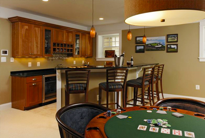 Small Basement Design Ideas Bar Pictures To Pin On Pinterest