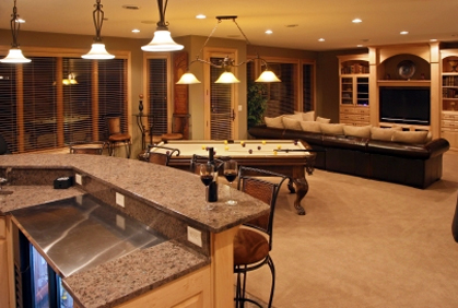 Diy Bar Ideas For A Basement Design Plans Pictures