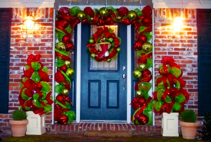 Patio Christmas Decorations With