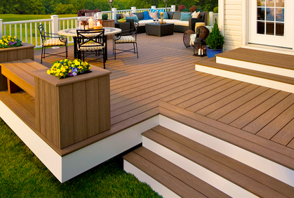 best composite decking ideas 2018 deck design plans