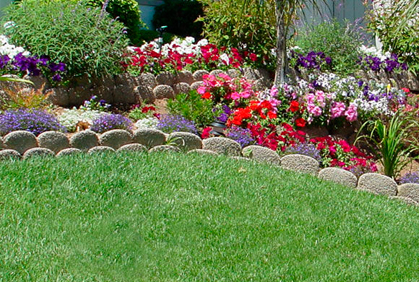 Garden Border Ideas Sandstone Edging Australia E With
