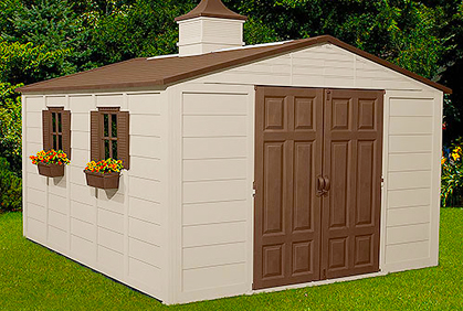 Outdoor shed designs garden storage ideas photos - Garden storage shed ideas ...