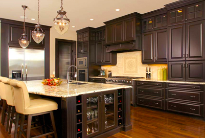 Top Kitchen Cabinet Color Designs Ideas Pictures