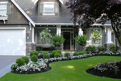 Simple landscape design ideas for Simple landscape design plans