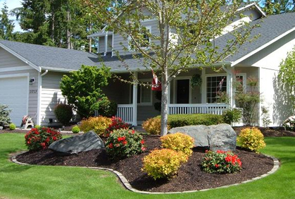 Simple Front Yard Landscaping on a Budget of Front Yard Landscaping