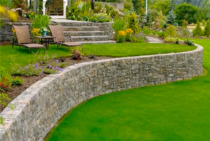 retaining wall block ideas for diy landscape design