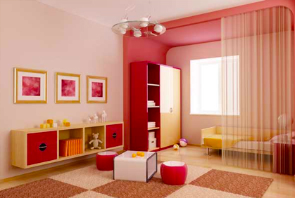 Paint Color Matching Inspiration With Kids Room Interior Design Ideas Photo