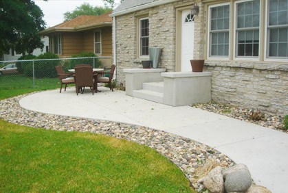 Adding Pavers To Concrete Patio Decorate Their Own Concrete Patio Concrete Patios Are Attracting More
