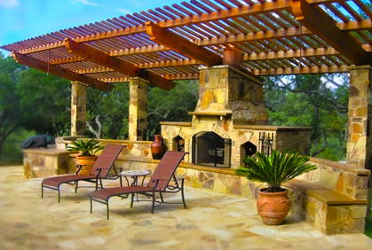 Outdoor Fireplace Design Ideas image of rock outdoor fireplace designs Outdoor Fireplace