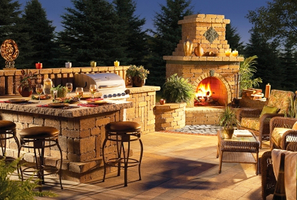 Outdoor Fireplace Kits Plans