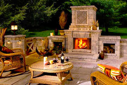 Outdoor Fireplace Design Ideas design ideas exterior amazing modern stone fireplace designs ideas stone pathway pinery unusual fireplace design A Custom Diy Outdoor Fireplace Design Is Generally Used To Build Warm And Beautiful Fires Outside The Home And Can Serve As An Outdoor Patio Heater When The