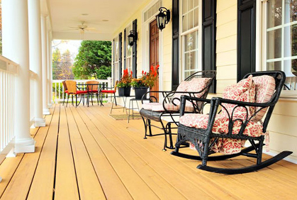 Do it yourself outdoor front porch designs ideas and online pictures and design plans