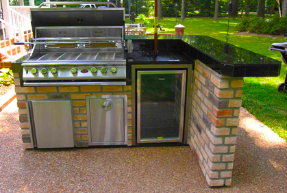 diy outdoor kitchens images