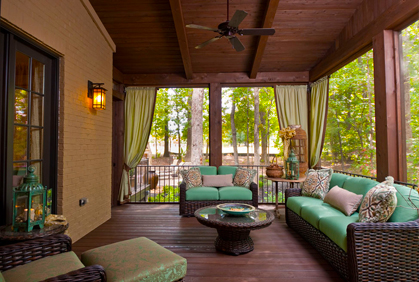 screen porch design ideas - Closed In Patio Designs