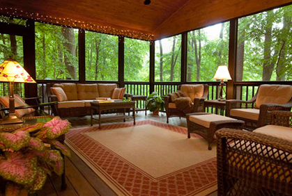 Pictures of Outdoor screened in porch patio deck outdoor living area screens screen designs ideas and photos