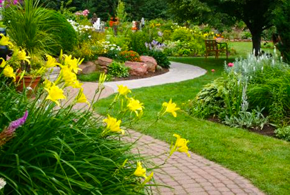 Flowers landscape design pictures
