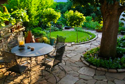 Patio landscape design pictures