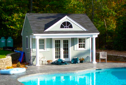 when considering different ideas for pool houses one thing you will want to keep in mind is your budget the cost to build a pool house can often be quite
