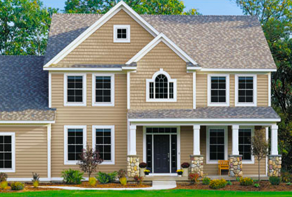 Exterior vinyl siding colors ideas styles pictures Vinyl siding house plans