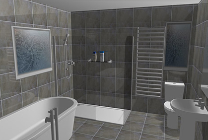 Bathroom design tool for Free 3d bathroom design software