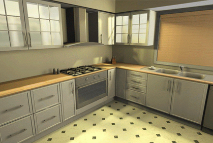 3d kitchen remodel