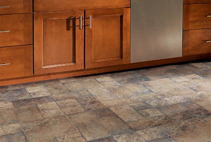 Durable kitchen floor covering pictures to pin on for Floor covering options
