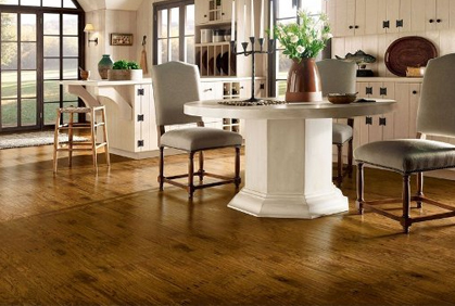 Kitchen flooring ideas photos best floor options for Diy kitchen floor ideas