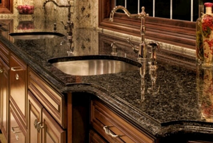 pictures of kitchen granite countertops - colors ideas