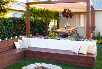 Backyard makeover ideas easy landscape design plans for New zealand garden designs ideas