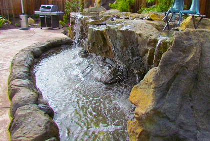 Backyard Waterfall Ideas Pictures & Simple DIY Plans
