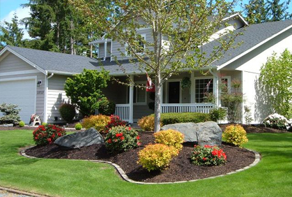 Fast Design Landscaping ideas for front yard of a mobile home