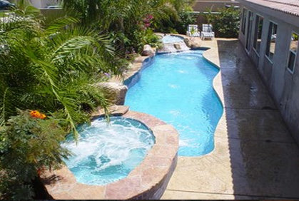 Most popular 2015 small backyard ideas smaller swimming pool designs