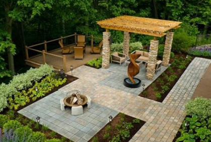 Online pictures of small backyard ideas