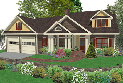 Remodel exterior house software joy studio design for Exterior house design programs free