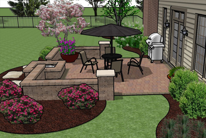 designing a patio layout patio designs ideas designing a patio layout category home decor home bunch - Designing A Patio Layout