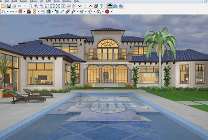 Simple cad home design home design and style for Simple architectural drawing software