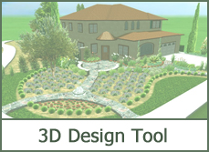 Easy to use download landscape design software tools for planting and designing with shrubs